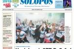 Halaman Depan Harian Umum Solopos Edisi Senin, 8 Desember 2014