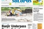 Halaman Depan Harian Umum Solopos edisi Selasa, 23 Desember 2014