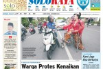 SOLOPOS HARI INI : Soloraya Hari Ini: Protes Kenaikan Tarif Parkir di Stasiun hingga Peringatan Hari Difabel