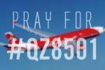 Hastag #QZ8501 menjadi trending topic Twitter (Twitter)