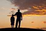Ilustrasi Ayah dan Anak (Karyapuisi.com)