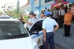 Komandan Lanud Adi Soemarmo yang meresmikan armada baru Taksi Angkasa untuk monopoli angkutan Bandara Adi Soemarmo (tni-au.mil.id)