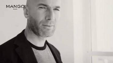 Zinedine Zidane jadi model brand Mango (epails.com)