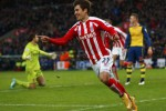 STOKE CITY 3-2 ARSENAL : Teror Stoke City