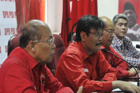 Djarot Saiful Hidayat (tengah). (Dok/JIBI/Bisnis)