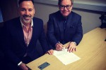 Elton John dan David Furnish menikah (CNN/Instagram Elton John)