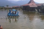 Perahu yang disewakan di Kampung Rawa. (Wisnu Wardhana/JIBI/Harian Jogja)