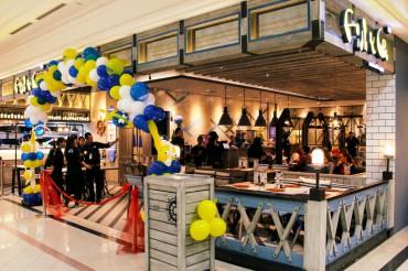 Outlet Fish & Co yang dibuka di Plaza Ambarrukmo, Jogja. Outlet ini merupakan yang ke 17 setelah Jakarta, Surabaya, Bali dan Medan. (JIBI/Harian Jogja/Abdul Hamied Razak)