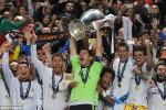 Real Madrid saat memenangkan juara Liga Champions untuk kesepuluh atau Le Decima. Ist/Dailymail.co.u