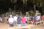 Suasana misa Natal di Gua Maria Tritis, Giring, Paliyan Gunungkidul, Kamis (25/12/2014). (Kusnul Isti Qomah)