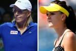 Agnieszka Radwanska (kanan) kini merekrut legenda hidup tenis putri dunia Martina Navratilova menjadi pelatihnya. Ist/dokumentasi