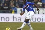 Gol pemain Sampdoria Pedro Mba Obiang ke gawang Udinese gagal memenangkan laga. Timnya bermain imbang. Ist/sportskeeda.com