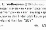 Twitter SBY (JIBI/Harian Jogja/Printscreen)