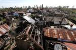 Rumah-rumah rusak disapu Topan Hagupit di Samar Timur, di Filipina tengah, Senin (8/12/2014). (JIBI/Solopos/Reuters)