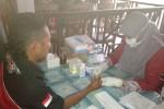 Anggota Tri Sakti King Club Bantul (TSKCB) menjalani VCT yang digelar KPA Bantul bekerjasama dengan LSM Viesta dan Puskesmas Sedayu I, Minggu (21/12/2014). (Endro Guntoro/JIBI/Harian Jogja)