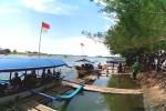 Perahu wisata di Laguna Panta Glagah. (Holy Kartika N.S/JIBI/Harian Jogja)