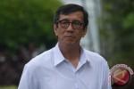 KPK VS POLRI : Menkum HAM Bantah Terlibat Pengaturan Hasil Praperadilan BG