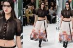 Kendal Jenner di Paris Fashion Week (huffingtonpost)