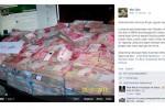 Foto tumpukan uang unggahan Facebook Mas Dian (facebook)