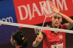 Bellaetrix Manuputty menjadi penentu kemenangan Jaya Raya Jakarta (badmintonindonesia.org)