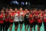 Tim Djarum Kudus raih juara ketiga Djarum Superliga Badminton 2015 (badmintonindonesia.org)