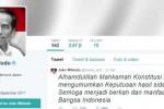Akun Twitter Jokowi (Twitter.com-@jokowi_do2)