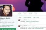 Akun Twitter Shaheer Sheikh yang diretas (Twitter)