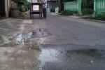 Pipa pam yang bocor dan merembes di jalanan (JIBI/Harian Jogja/Khusnul Isti Qomah)