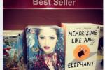 Buku Jedar: Love, Life, Lord di rak buku terlaris (Instagram.com/Lovejedar)