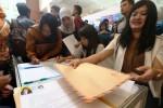 Bandung Career Expo di Gedung Landmark, Kamis (15/1/2015). (Rachman/JIBI/Bisnis)