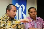 Menteri Marwan Jafar di Kantor Harian Bisnis Indonesia, Senin (19/1/2015). (Nurul Hidayat/JIBI/Bisnis)
