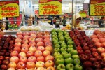 Perdagangan buah segar di pusat perbelanjaan Kediri, Jumat (9/1/2015). (JIBI/Solopos/Antara/Rudi Mulya)