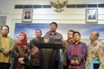 Kompolnas bahas kapolri baru di Istana Kepresidenan, Selasa (13/1/2015). (JIBI/Solopos/Antara/Wahyu Putro A.)