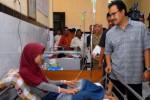 Wagub Jatim tengok pasien di Jombang, Rabu (21/1/2015). (JIBI/Solopos/Antara/Syaiful Arif)