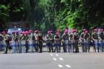 FOTO EKSEKUSI PENGADILAN : Hadapi Aparat Yudikatif, Marinir Siap Tempur