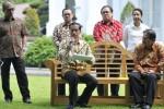 Presiden Jokowi mengumumkan harga baru BBM, Jumat (16/1/2015). (JIBI/Solopos/Antara/Andika Wahyu)