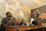 Sejumlah aktivis menolak Budi Gunawan jadi kapolri baru, Rabu (14/1/2015). (JIBI/Solopos/Antara/Akbar Nugroho Gumay)