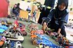 Kontes robot di Polinema, Malang, Sabtu (10/1/2015). (JIBI/Solopos/Antara/Ari Bowo Sucipto)