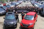 Mobil terbaru Honda, HR-V, mulai dikirim. Penyerahan 100 Honda HR-V, Sabtu (24/1/2-15). (Nurul Hidayat/JIBI/Bisnis)