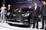 Peluncuran mobil Honda New CRV di Jakarta, Rabu (14/1/2015). (JIBI/Solopos/Antara/Zarqoni maksum)