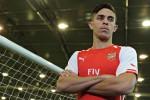Bek baru Arsenal Gabriel Paulista siap melakoni debut saat melawan Aston Villa. Ist/guardian.co.uk
