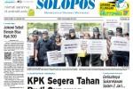 Halaman Depan Harian Umum Solopos edisi Jumat, 16 Januari 2015