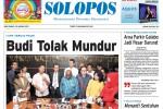 Halaman Depan Harian Umum Solopos edisi Rabu, 28 Januari 2015