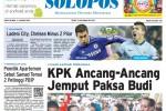 Halaman Depan Harian Umum Solopos edisi Sabtu, 31 Januari 2015