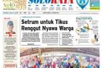 Halaman Soloraya Harian Umum Solopos edis Jumat, 16 Januari 2015