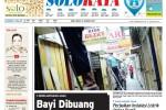 Halaman Soloraya Harian Umum Solopos edisi Kamis, 15 Januari 2015