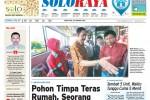 Halaman Soloraya Harian Umum Solopos edisi Sabtu, 24 Januari 2015