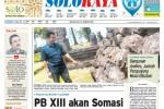 Halaman Soloraya Harian Umum Solopos edisi Selasa, 27 Januari 2015