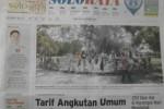Halaman Soloraya Harian Umum Solopos edisi Kamis, 22 Januari 2015
