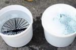 Ilustrasi dua ember untuk mencuci kendaraan (Kaskus.co.id)